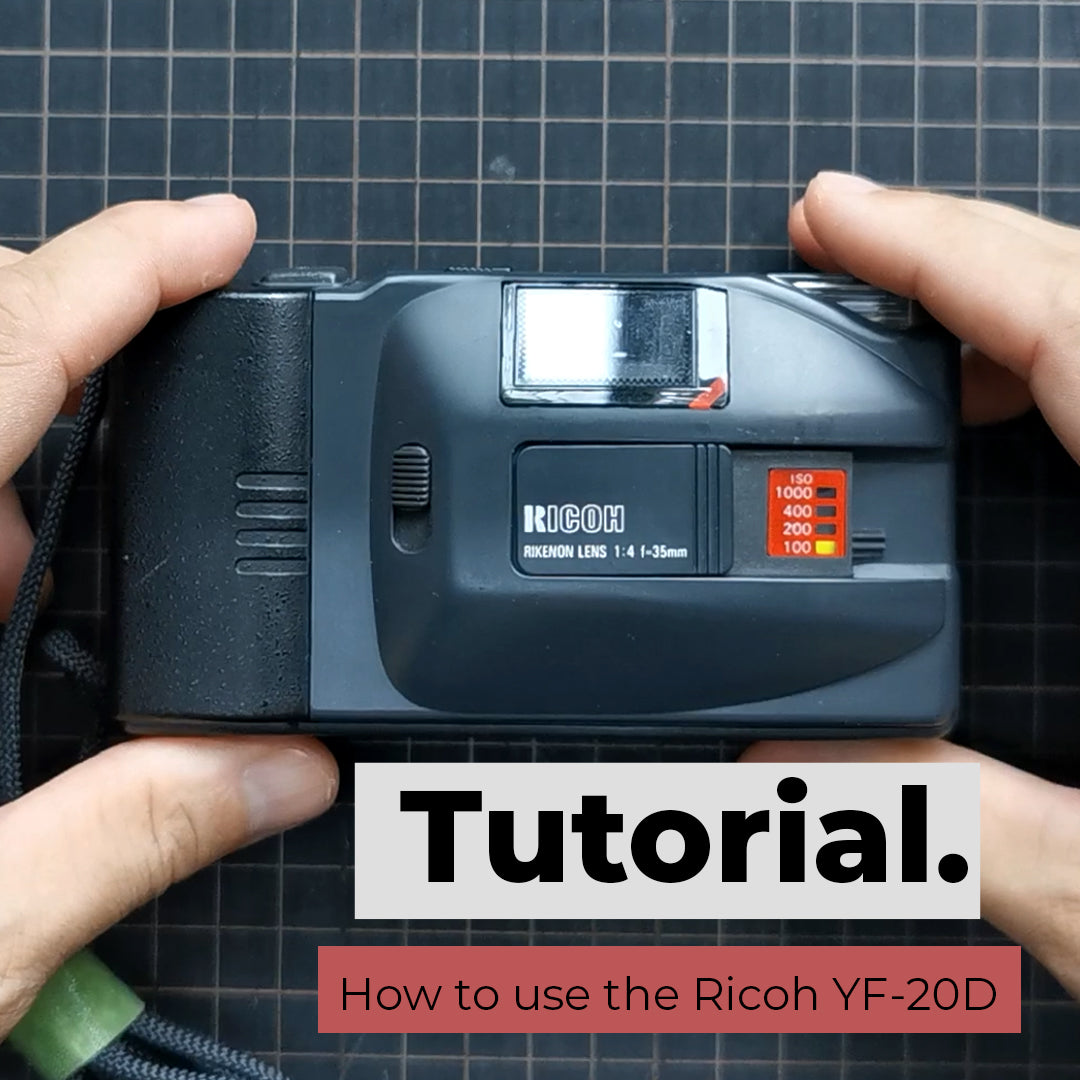 How to use the Ricoh YF-20D