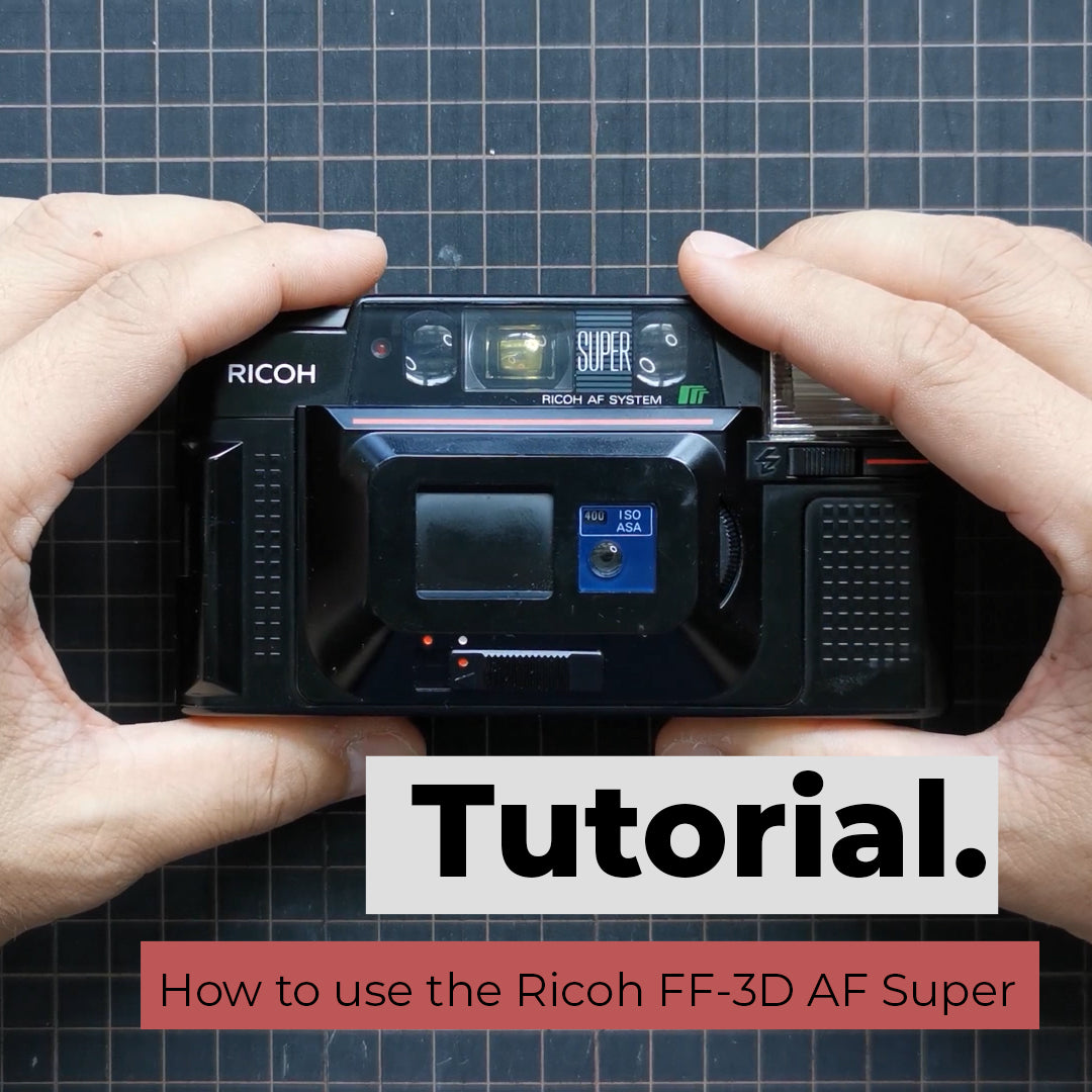 How to use the Ricoh FF-3D AF Super