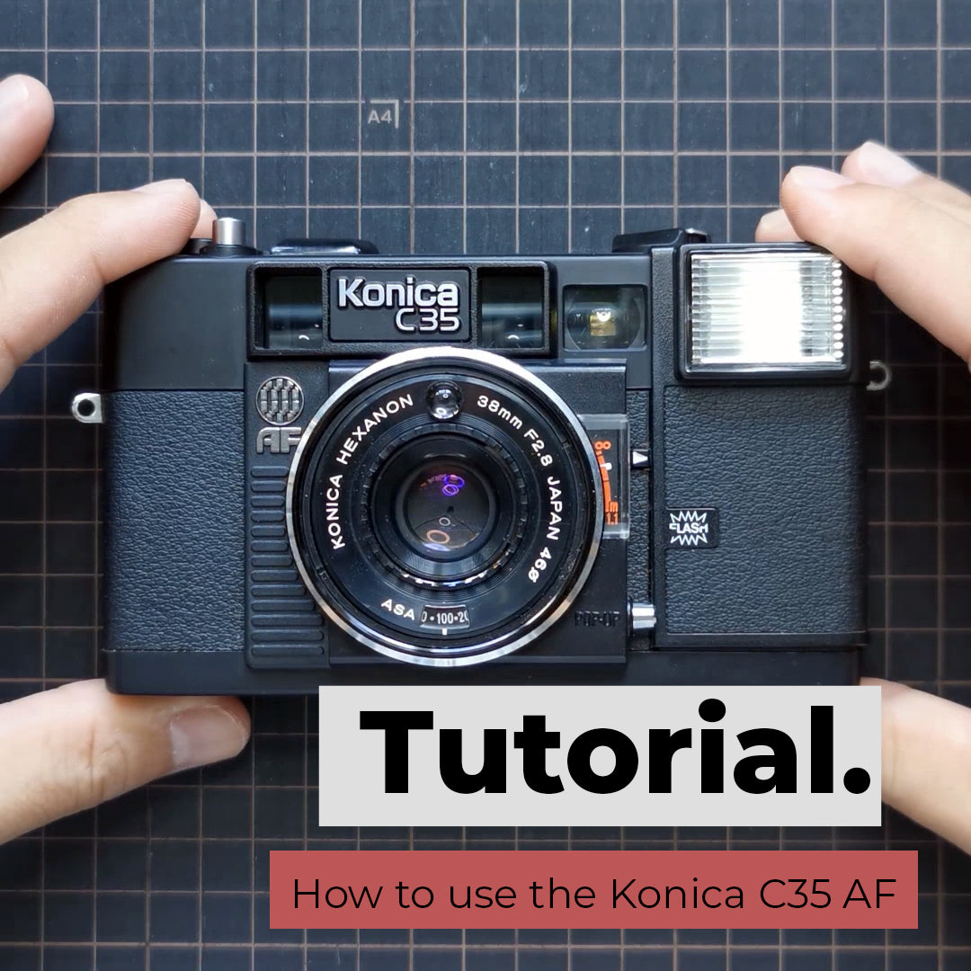 How to use the Konica C35 AF