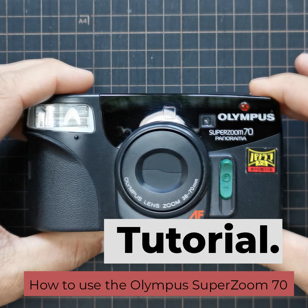 How to use the Olympus SuperZoom 70 / ∞Zoom 2000