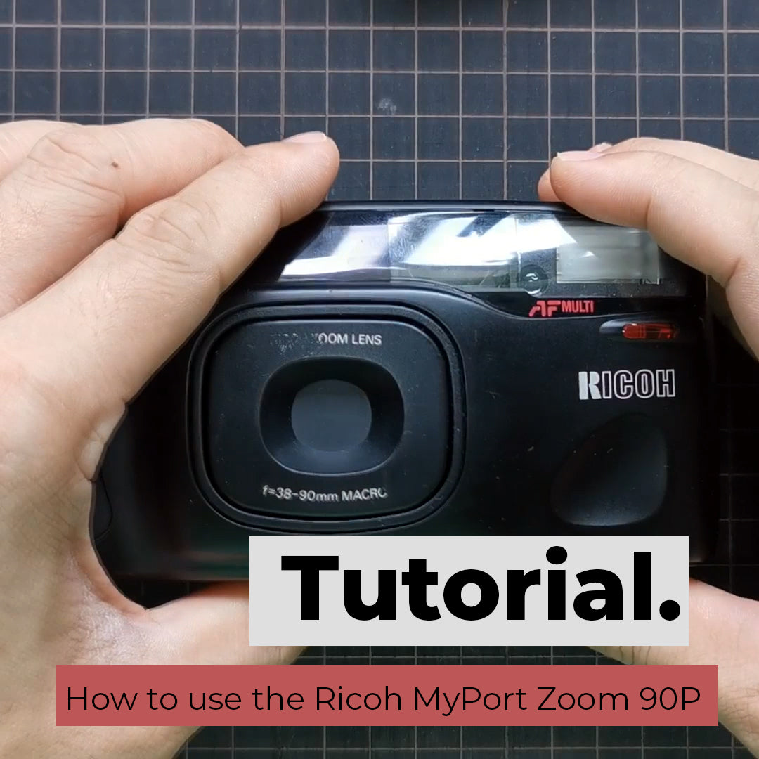 How to use Ricoh MyPort Zoom 90P / Shotmaster Tru-Zoom / RZ-900