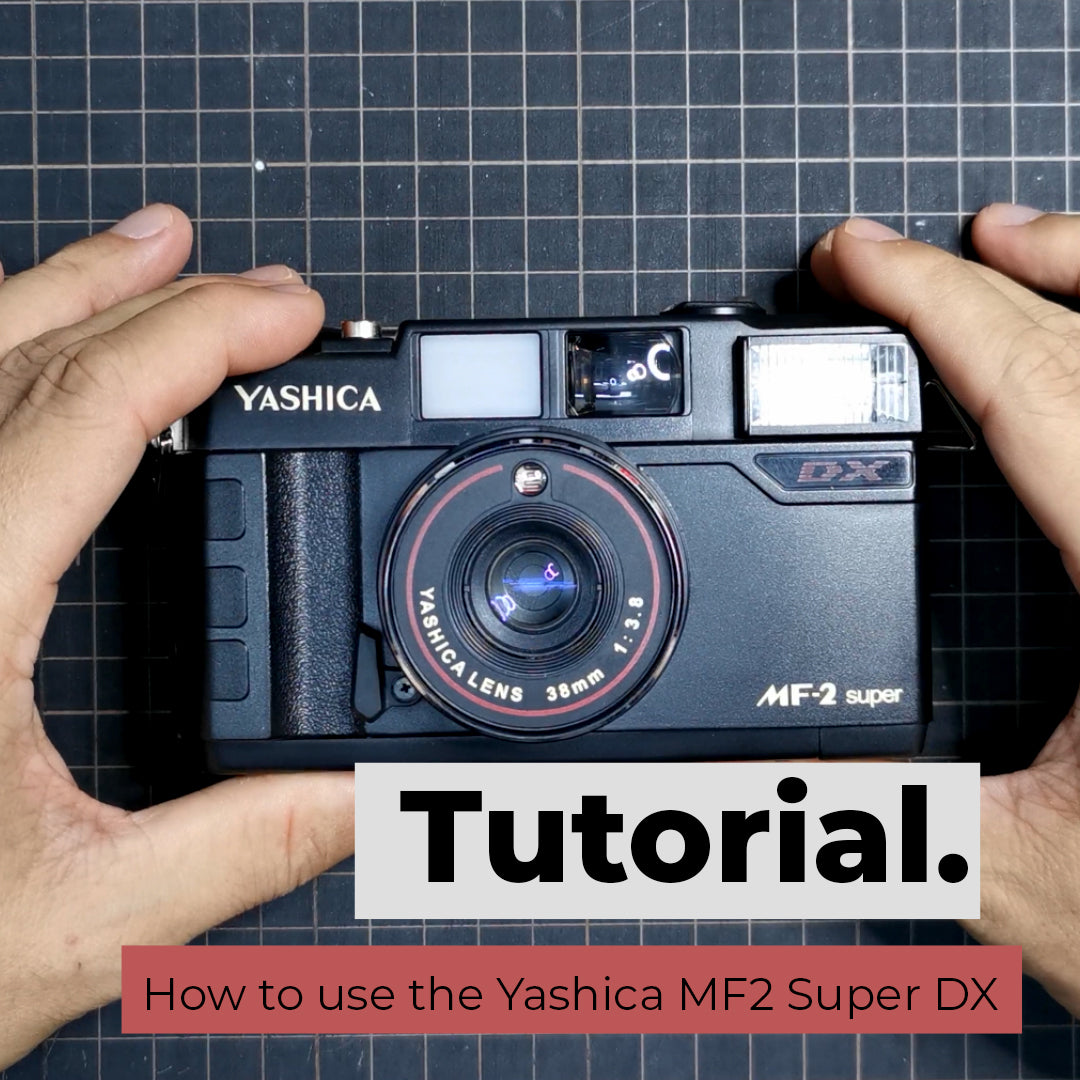 How to use the Yashica MF2 Super DX
