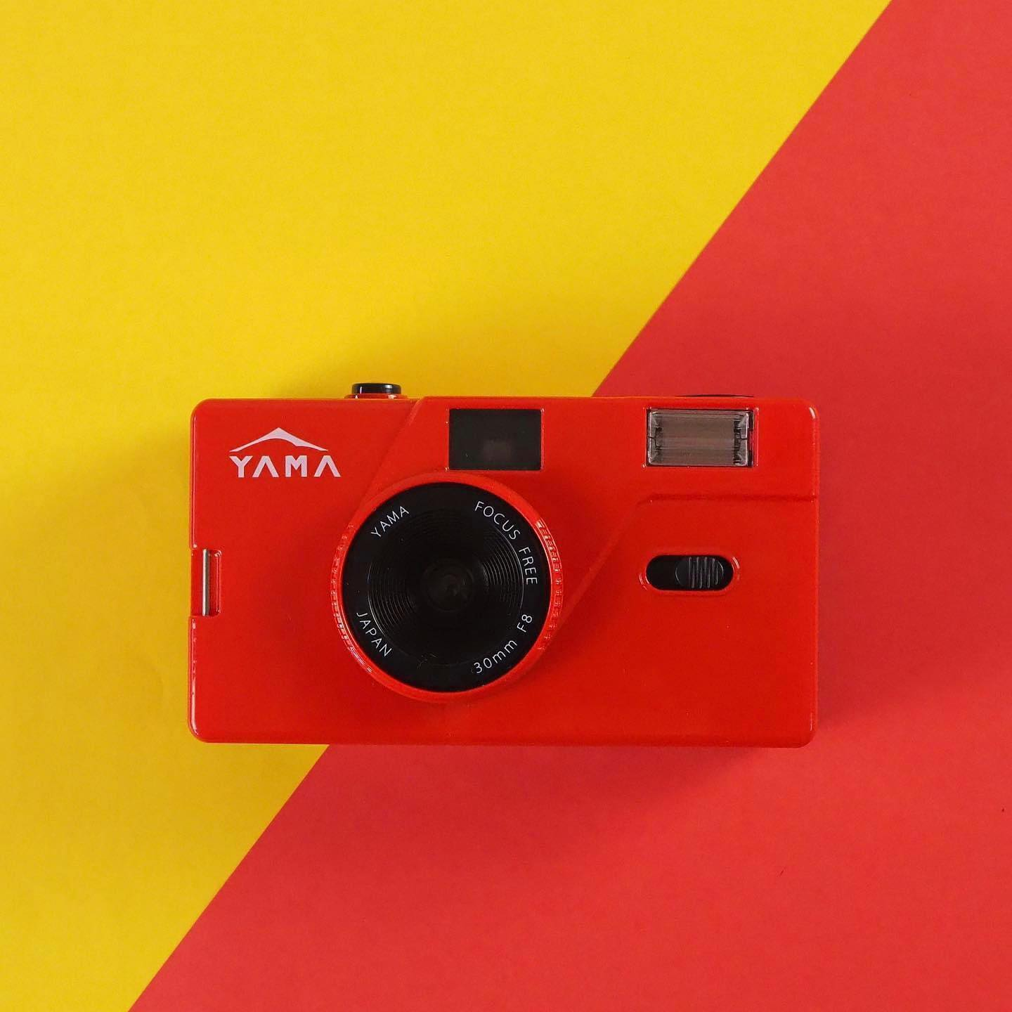 Yama Memo M20 35mm Film Camera (Red)