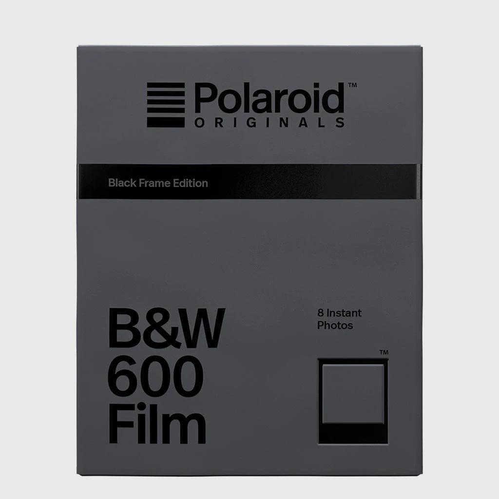 B&W Film for Polaroid 600 | Black Frame Edition[product_tag] Singapore - 8storeytree