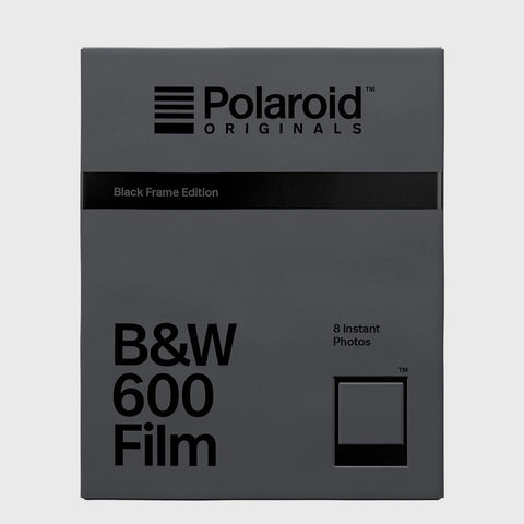 B&W Film for Polaroid 600 | Black Frame Edition