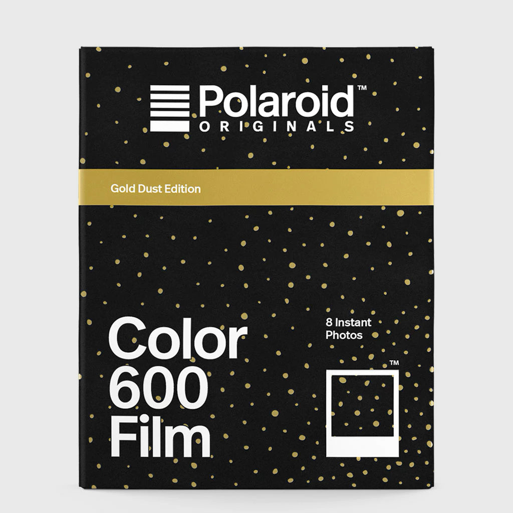 Color Film for Polaroid 600 | Gold Dust Edition