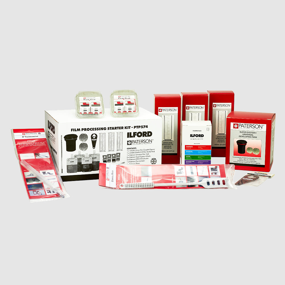 Ilford & Paterson Film Processing Starter Kit Singapore - 8storeytree