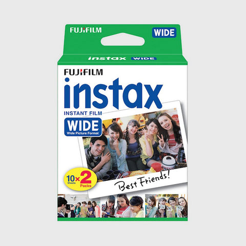 Instax Wide Film (20 Exposures)