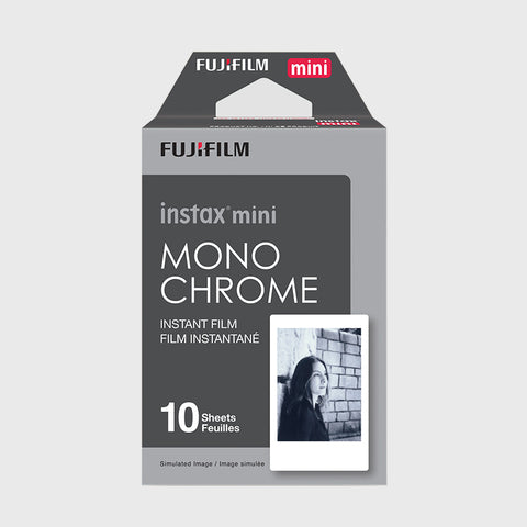 Instax Mini Film Monochrome (10 Exposures)