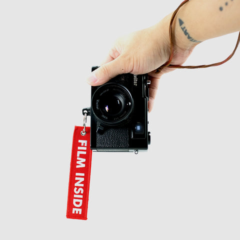 'Film Inside' Camera Tag