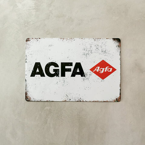 Tin Sign - Agfa Film