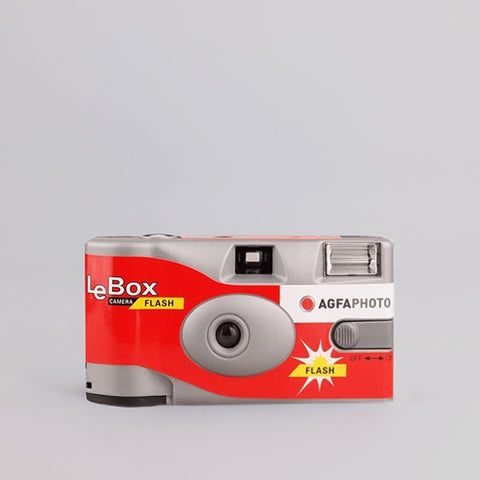 Agfa LeBox Flash Disposable Camera