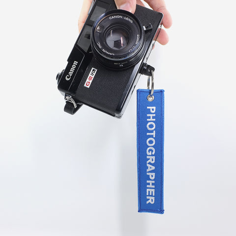 'The Official Photographer' Camera Tag