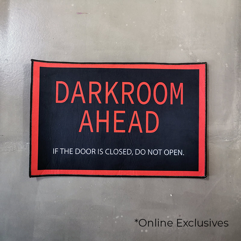 'Darkroom Ahead' Floor Mat