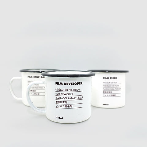Developer's Enamel Mugs