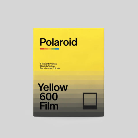 Black & Yellow Duochrome Edition Film for Polaroid 600