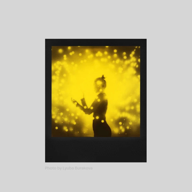 Black & Yellow Duochrome Edition Film for Polaroid 600 Singapore - 8storeytree