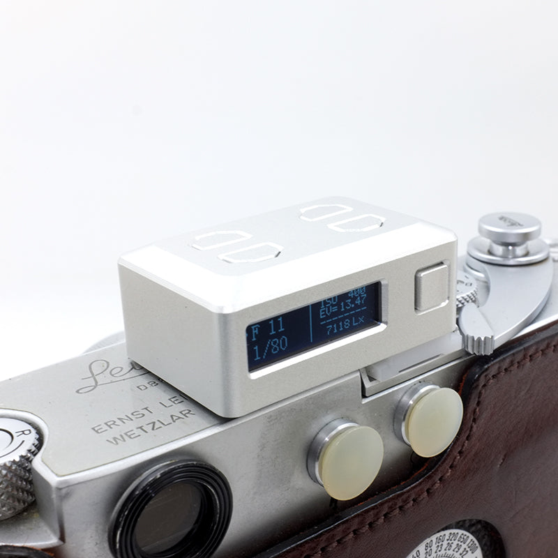 EM-01 Hotshoe Light Meter (Silver) Singapore - 8storeytree