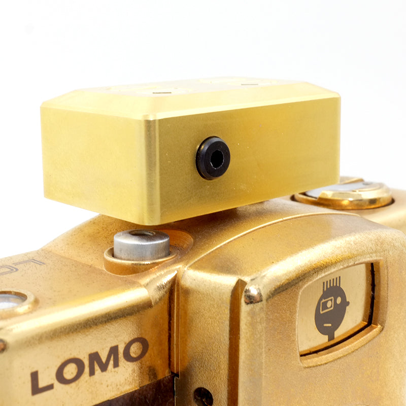 EM-01 Hotshoe Light Meter (Brass Edition) Singapore - 8storeytree