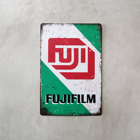 Tin Sign - Fujifilm