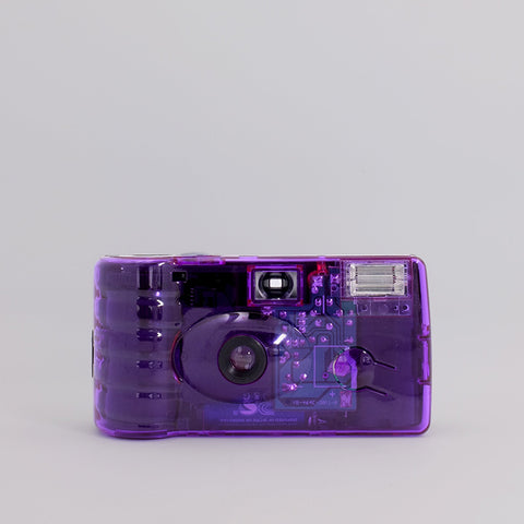 Holga Single Use Camera - Purple Filter