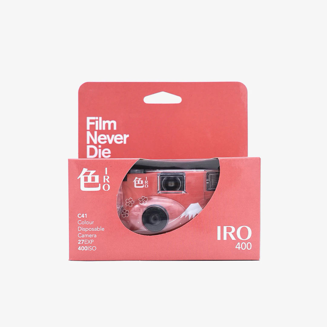 FilmNeverDie IRO 400 Single-Use Camera Singapore - 8storeytree