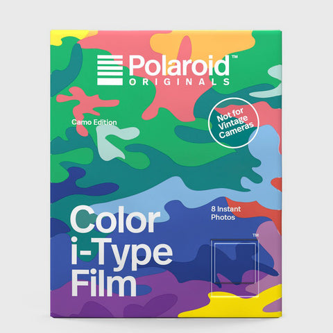 Color Film for I-Type | Camo Edition
