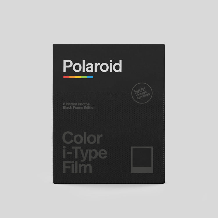 Color Film for I-Type | Black Frame Edition[product_tag] Singapore - 8storeytree