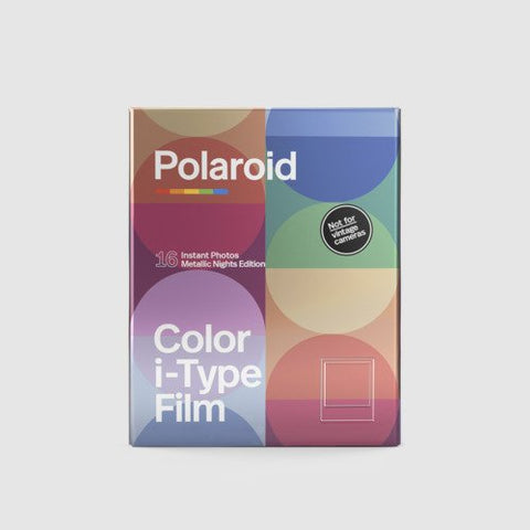 Color i‑Type Polaroid Film Double Pack | Metallic Nights Edition