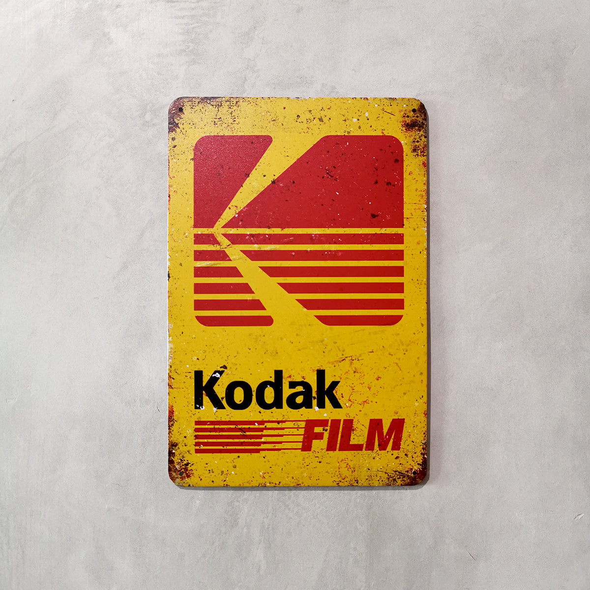 Tin Sign - Kodak Film Singapore - 8storeytree