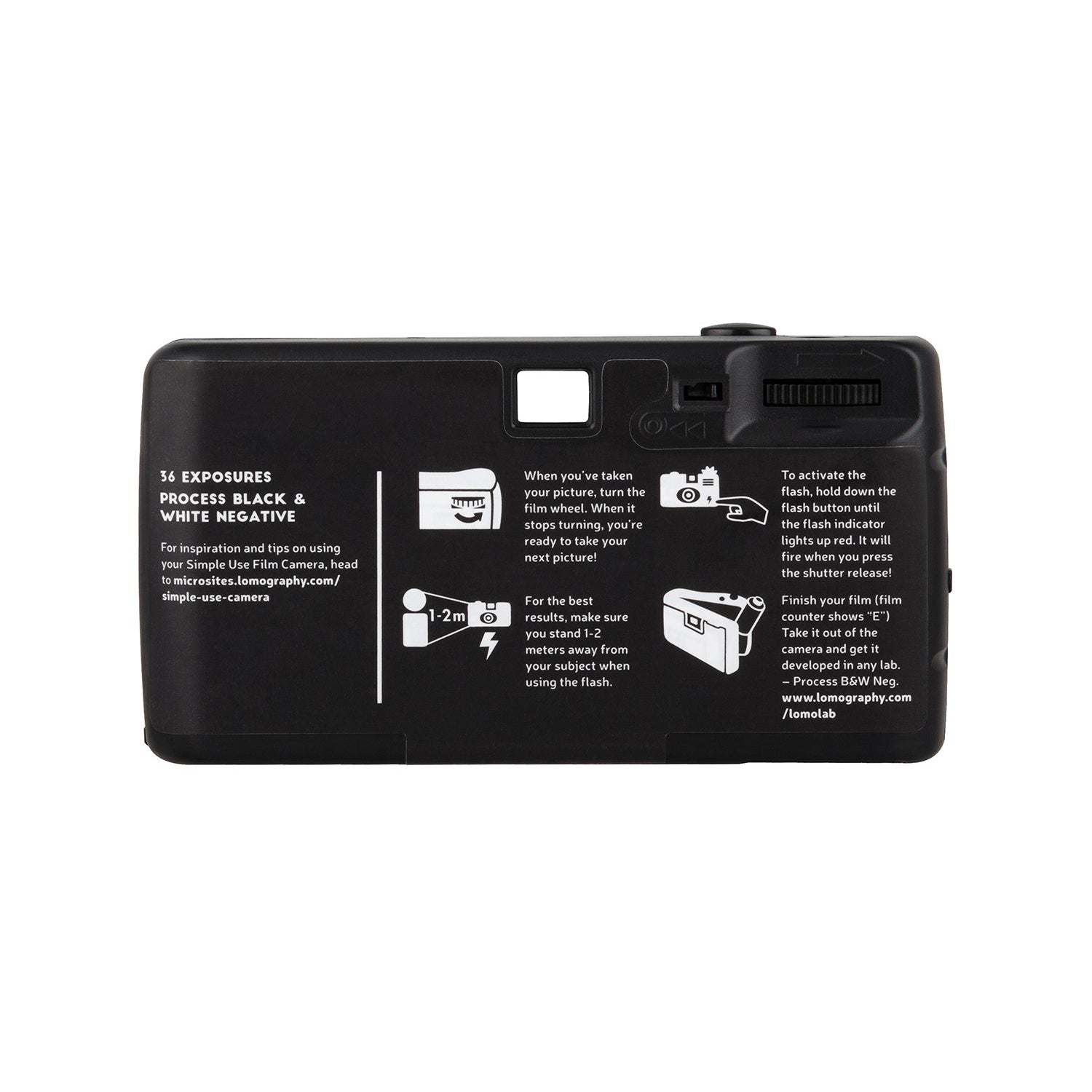 Lomography Simple Use Film Camera Black & White[product_tag] - 8storeytree