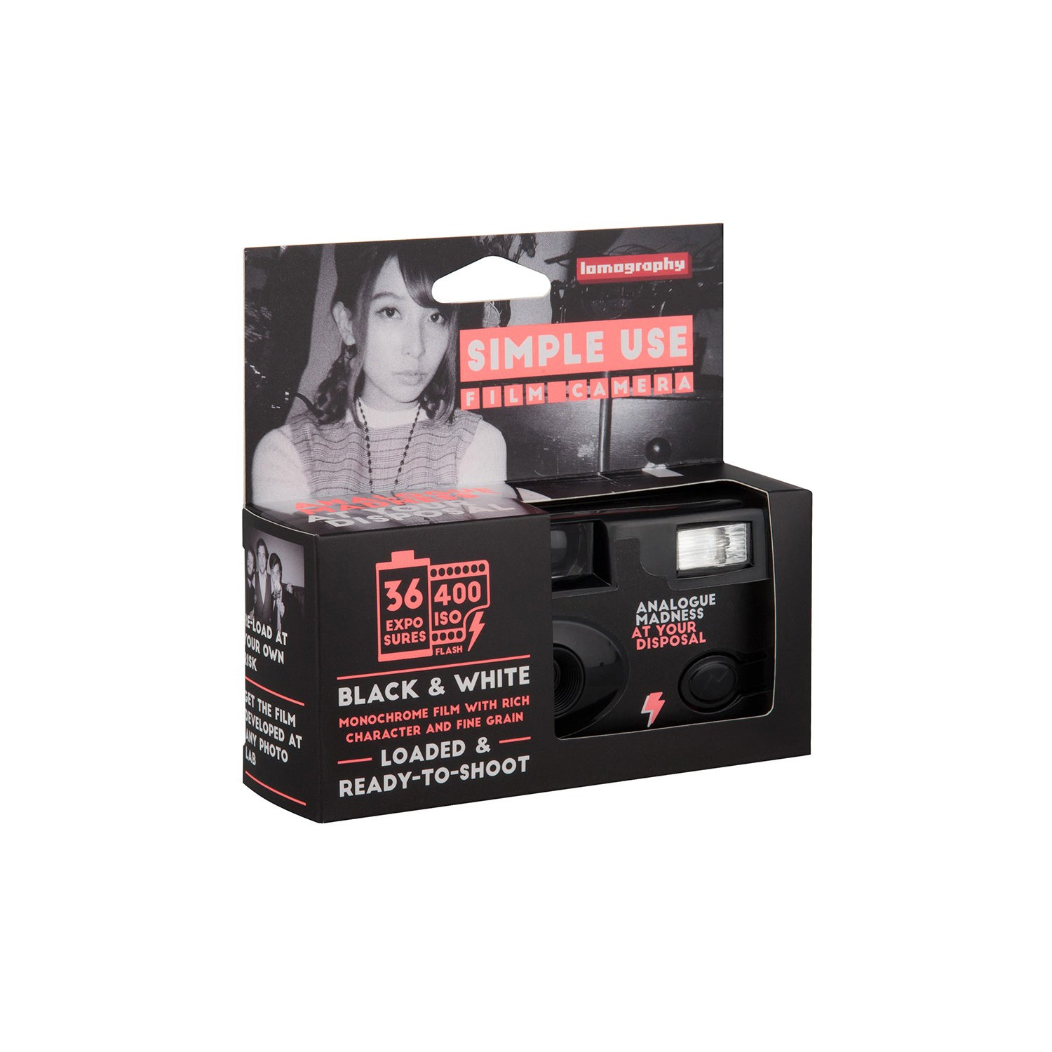 Lomography Simple Use Film Camera Black & White[product_tag] Singapore - 8storeytree
