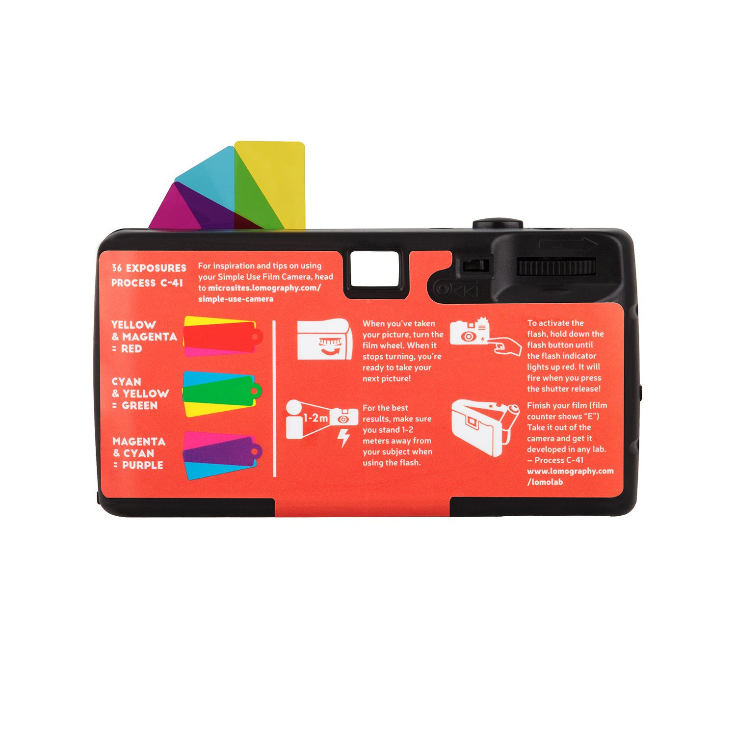 Lomography Simple Use Film Camera Color Negative 400[product_tag] - 8storeytree