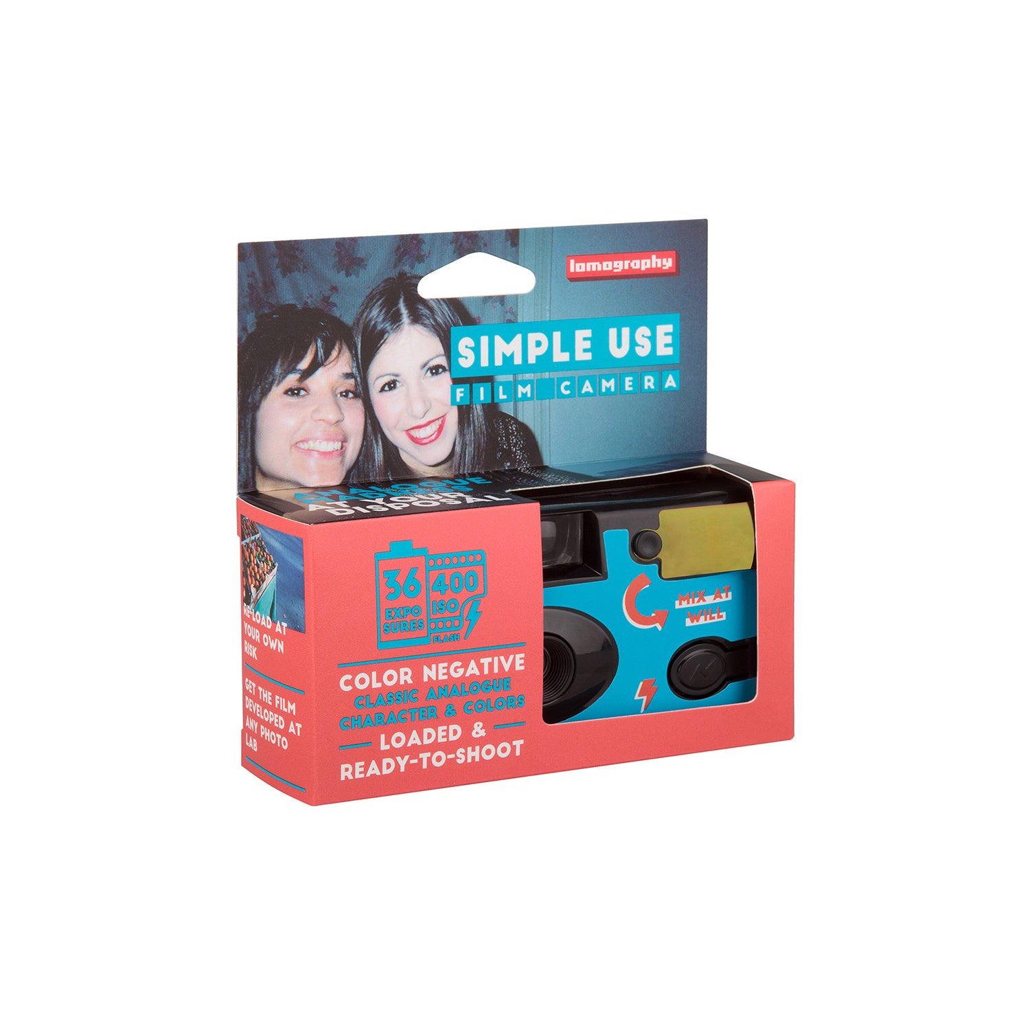 Lomography Simple Use Film Camera Color Negative 400[product_tag] Singapore - 8storeytree