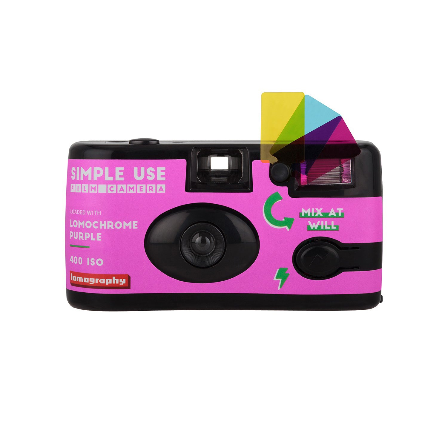 Lomography Simple Use Film Camera Lomochrome Purple[product_tag] Singapore - 8storeytree