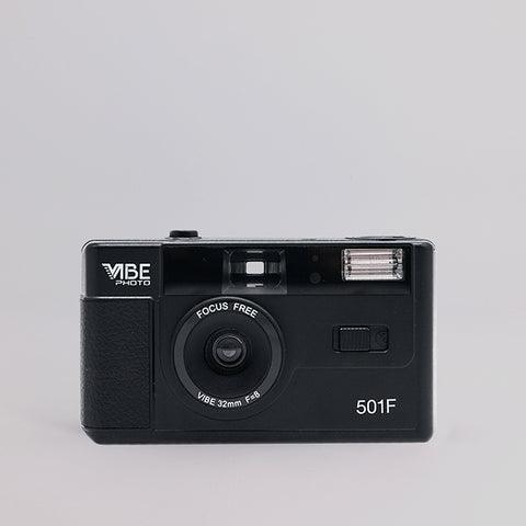 Vibe Photo 35mm Camera (Black)