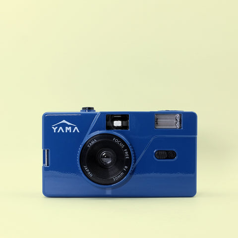 Yama Memo M20 35mm Film Camera (Blue)
