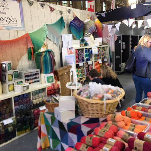 Yarns Shows Where You Will Find a Black Sheep Wools Stand in 2020