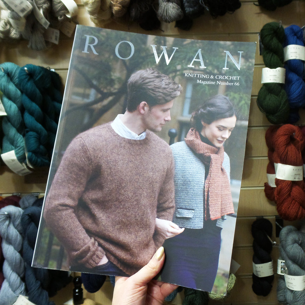 Looking through Rowan Magazine 66