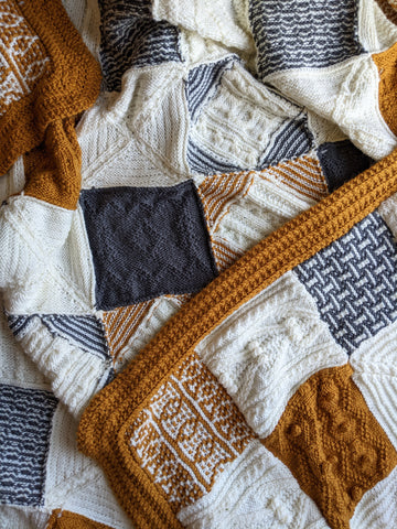 A Day Out Knit Along Blanket - Culcheth