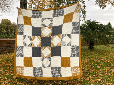 A Day Out Knit Along blanket by Sarah Hatton