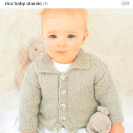Children's Jacket in Rico Baby Classic DK (089)
