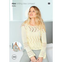 Sweater and Top in Rico Bandchen