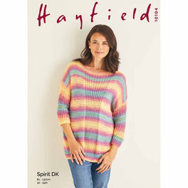 Sweater in Hayfield Spirit DK