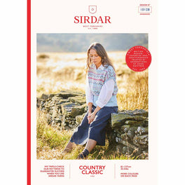 Fair Isle Top in Sirdar Country Classic 4ply - Digital Version 10128