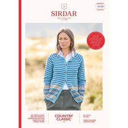 Cardigan in Sirdar Country Classic 4ply - Digital Version