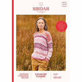 Sweater in Sirdar Country Classic 4ply - Digital Version