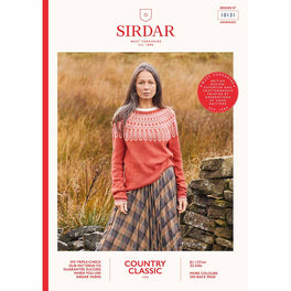 Sweater in Sirdar Country Classic 4ply - Digital Version 10131