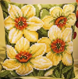 Narcissi Cushion Front Kit