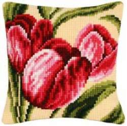 Tulips Cushion Front Kit